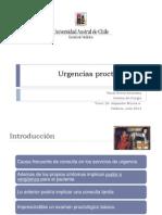 Seminario Urgencias proctológicas