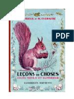 Leçons de Choses Orieux-Everaere 05 CM-CS