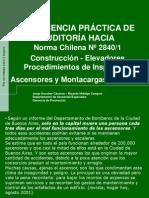 NCh 2840 1 2004 Construccion de Elevadores