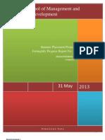 Summer Placement Project FNPR 1