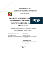 prerequisitos HACCP