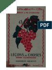 Leçons de Choses Orieux-Everaere 02 CE1-CE2