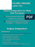 aircraft power plant system
