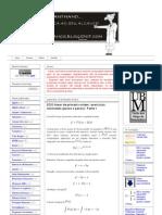 BLOG MANTHANO_ EDO linear de primeira ordem_ exercícios resolvidos (passo a passo) _ Parte 1