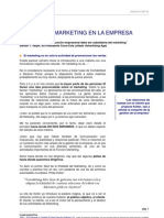 1. La Funcion Marketink en La Empresa