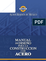 Manual de diseño para la construccion con acero-Altos hornos de mexico