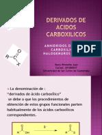 Derivados de Acidos Carboxilicos