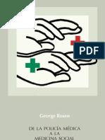 De la policía médica - George Rosen