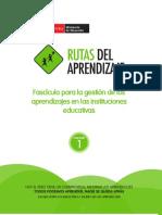 Rutas Del Aprendizaje Peru