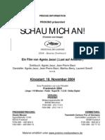 PH SchauMichAn (comme un image) by Agnes Jaoui - pressbook in german