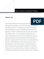 Political Evil and the Limits of Liberal Theory