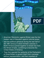 Democratic Origins & Revolution
