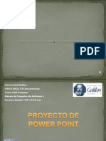 Proyecto Power Point Willy Calderon para FISICC-IDEA, CEI-Mazatenango