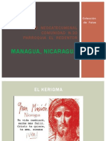 Camino Neocatecumenal Nicaragua, Fotos 2013
