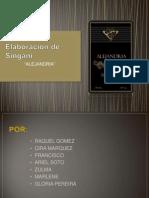 Elaboración de Singani