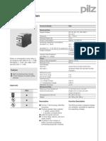 Timer Relay PZA Datasheet