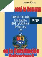 Libro ¿Donde esta la Comuna en la Constitución Bolivariana?