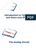 Introduction to Telephony and VoIP