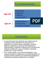 Filosofía Contemporánea Power Point