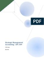 Strategic Accounting  Paper