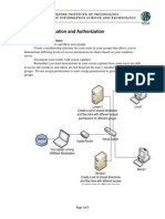 Lab 2 Authentication and Authorization