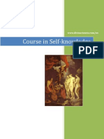 Course in Self-knowledge