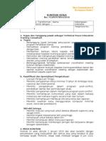 contoh kontrak kerja