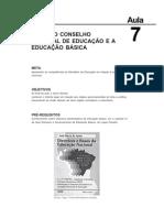 Estrutura e Funcionamento Do Ensino Aula 7