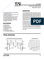 LTC 1255 Voltage Buffer Datasheet