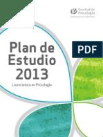 Publicacion Plan de Estudio 2013 2
