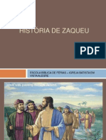 História de Zaqueu