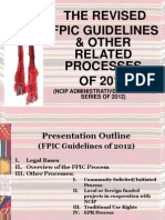 6.2 an Institutionalized FPIC Process in the Philippines