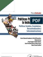 PeruDebate. Políticas Públicas por la Inclusión Social