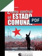 Libro Estado Comunal. Autor