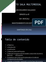 proyecto sala multimedial