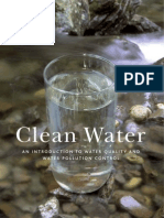 Clean Water an Introduction to Water Quality and Water Pollution Control