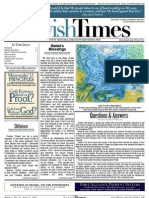Jewish Times - Volume I,No. 10...April 12, 2002