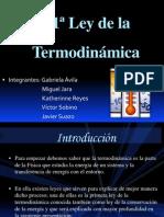Prmera Ley de La Termodinamica.