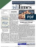 Jewish Times - Volume I,No. 13...May 3, 2002