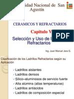 Seleccion y Uso de Ladrillos Refractarios (Repaso Para El Tercer Examen)