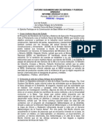 Informe Uruguay 21-2013