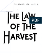 Law of the Harvest-Sterling W. Sill