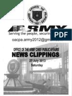 27 Jul 13 Newsclippings