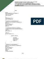 Programación I - GUÍA PRÁCTICA NÚMERO   - UNIDAD 3 - FUNCIONES DE CADENAS