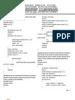 Programación I - GUÍA PRÁCTICA NÚMERO   - UNIDAD 3 - ARREGLOS