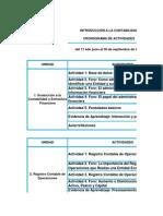 Calendario Ico 2013-2 Actividades