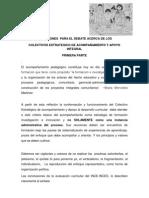 COLECTIVO ESTRATEGICO DE ACOMPAÑAMIENTO Y APOYO CURRICULAR