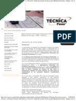 Especificaciones Tecnicas Mamposteria Estructural