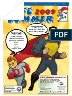 2009 Safe Summer Activity Guide