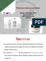 PHT 312 Emulsion